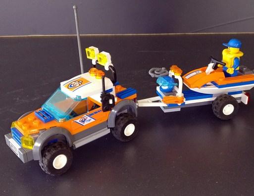 Lego® Küstenwache Wasserjet