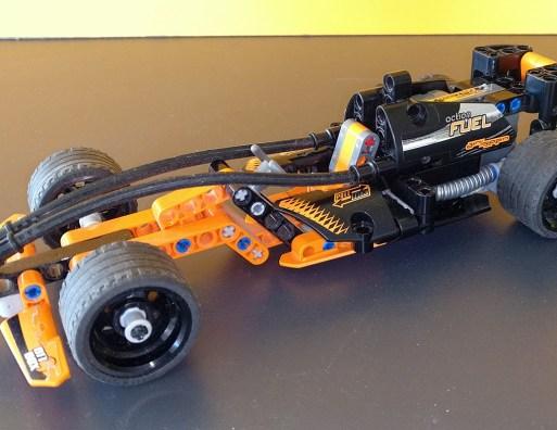 Lego® Technic Rennwagen
