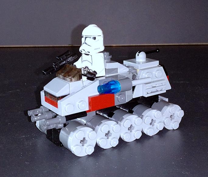 Lego® Micro Clone Turbo Tank