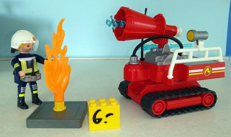 Playmobil® Feuerwehr-Schaumlöscher