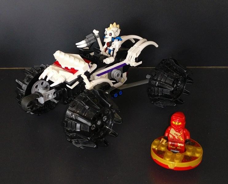 Lego® [Ninjago] 2518 Nuckals Quadbike / Nuckal's ATV (Get it @ PLAY-BAY.de)