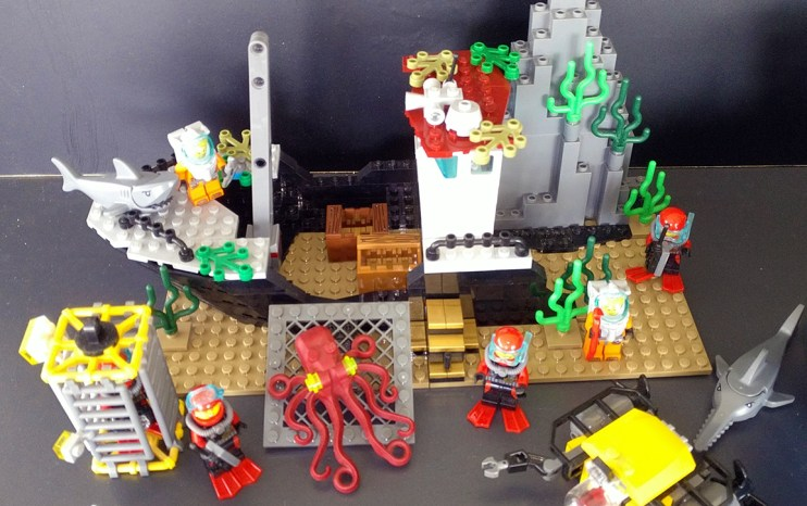 Lego® 60095 [City] Tiefsee-Expeditionsschiff / deep sea exploration vessel (Get it @ PLAY-BAY.de)