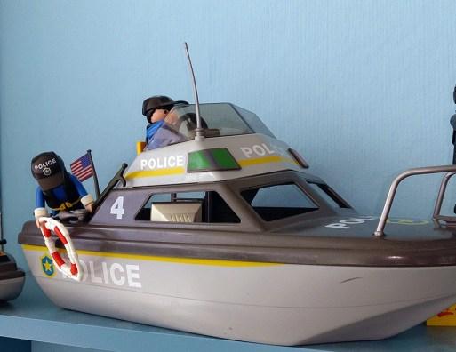 Playmobil® 4429 Police ship