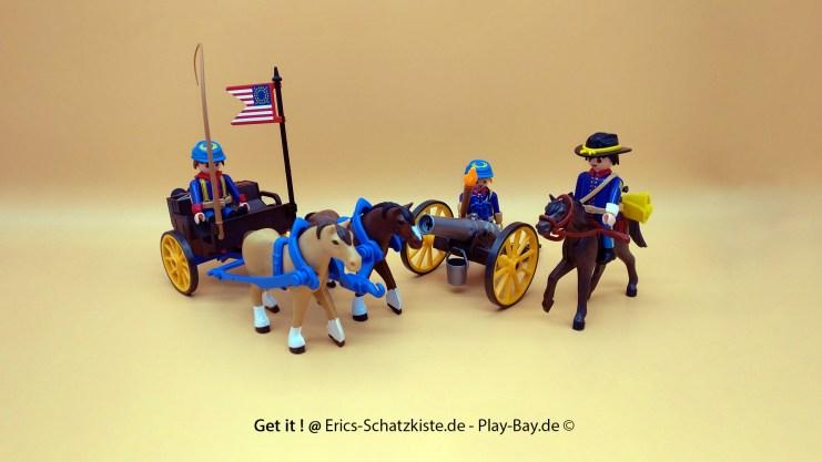 Playmobil® 5249 [Western] Kavalleriewagen mit Kanone (Get it @ PLAY-BAY.de)