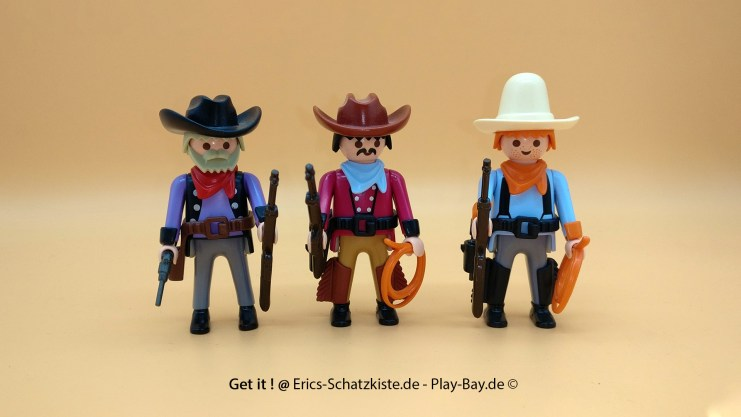 Playmobil® 7273 [Western] Drei Cowboys (Get it @ PLAY-BAY.de)