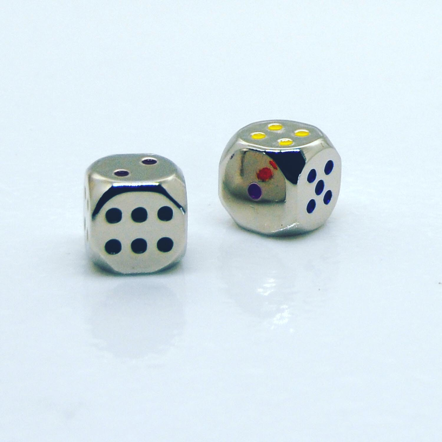 Set of 2 Zinc Dice