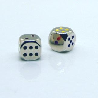 Set of 2 Zinc Dice