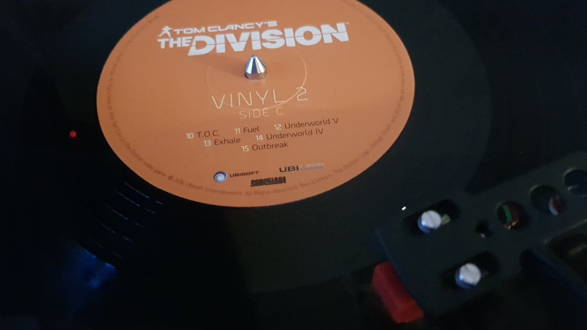 [ VINYL TEST ] The Division