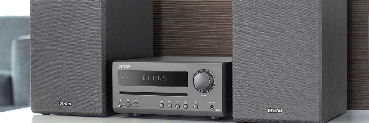 Denon Ultra Kompaktes Hi Fi System D T1 Ab Sofort Erhältlich
