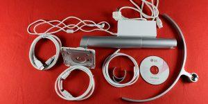 Alle Kabel und Zubehörteile sind im Paket enthalten und müssen nicht nachgekauft werden.