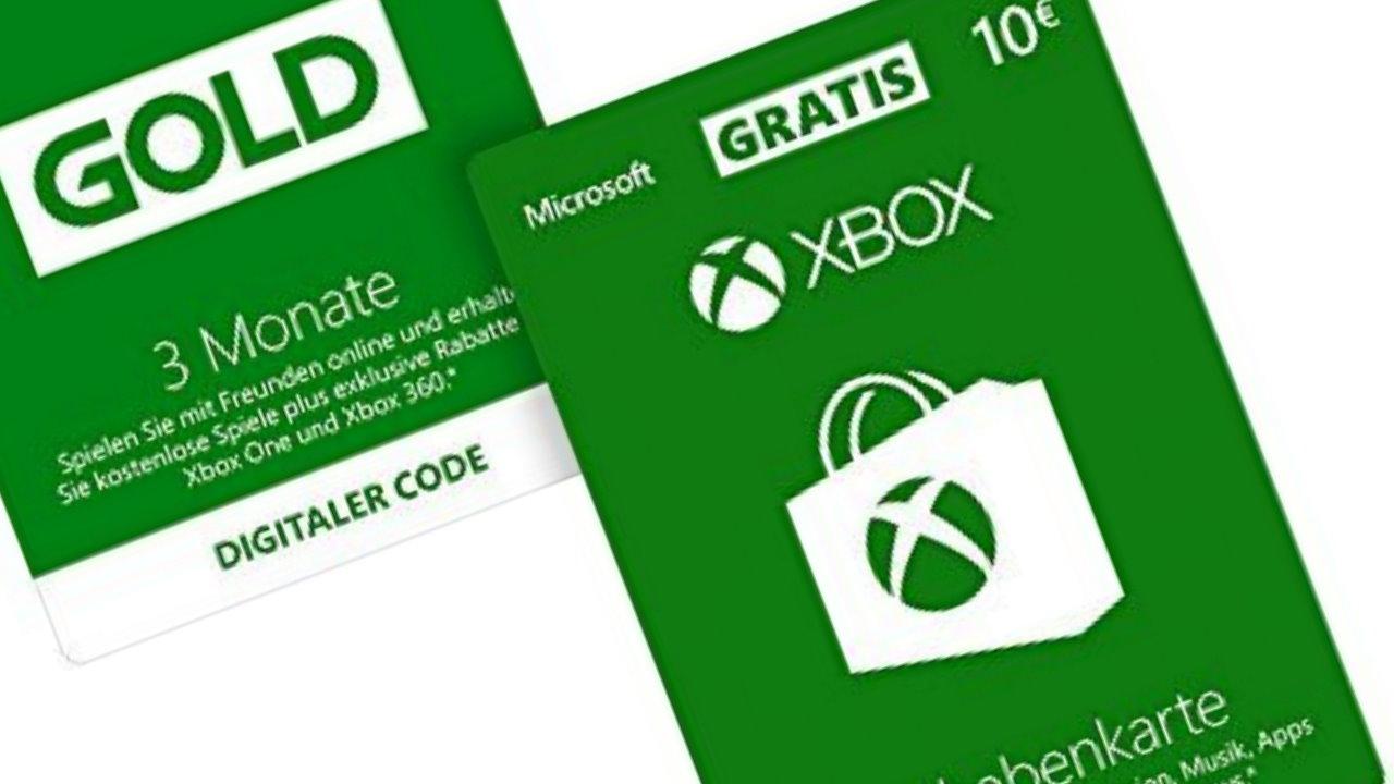 Angebot Xbox Live Gold Mitgliedschaft 3 Monate 10 Gratis