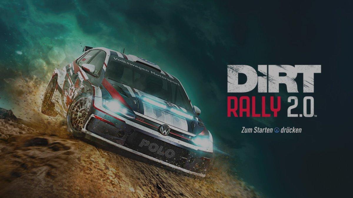 """[ TEST ] DIRT RALLY 2.0 - der schönste """"Dreck"""" im virtuellen Motorsport"""
