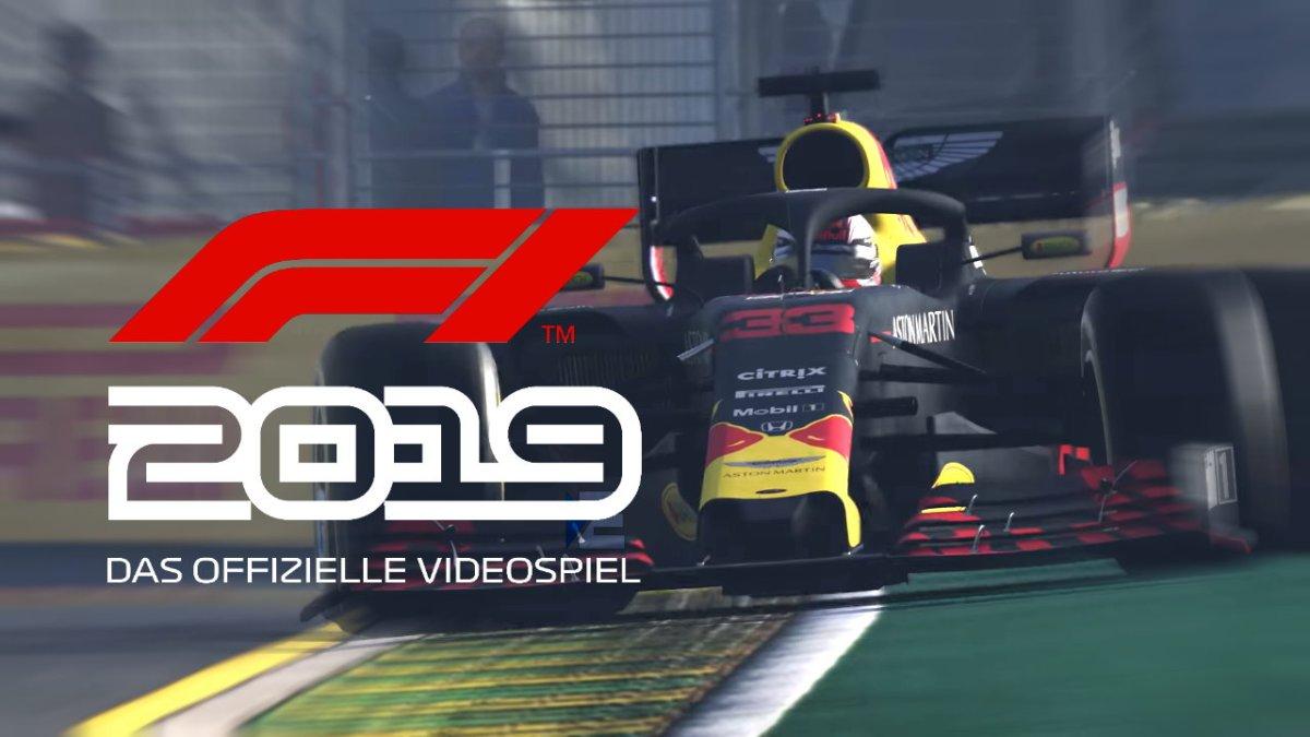 F1 2019 - Broommm ... erster offizieller Gameplay-Trailer ist da