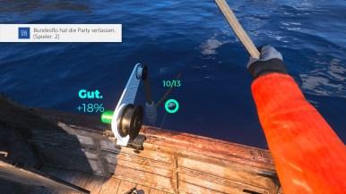 Fische aus dem Wasser ziehen