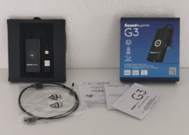Soundblaster G3 1