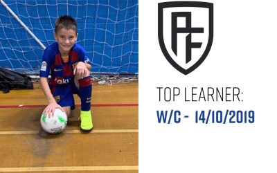 Session Review – W/C 14th October '19