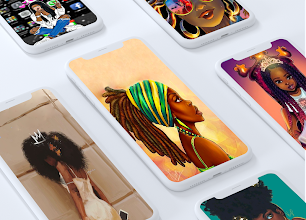 While there are tons of cute wallpapers for girls, these. Melanin Wallpapers Girly Cute Girls Apps On Google Play