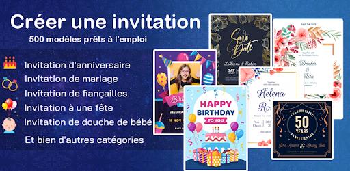 carte d invitation 2020 pour