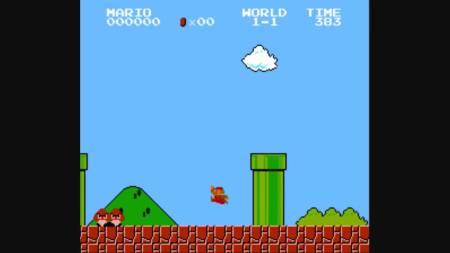 Super Mario platforma