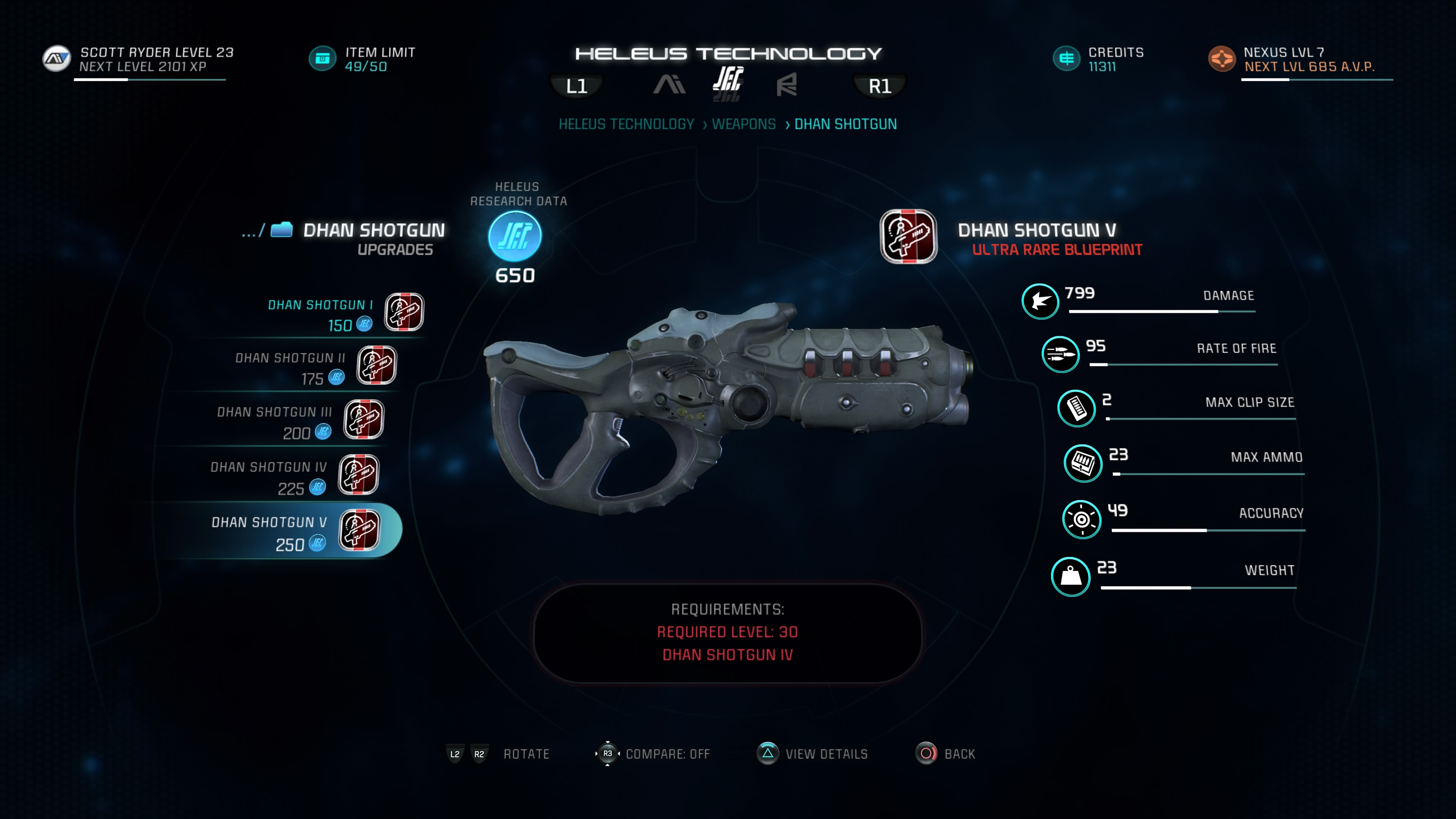 Dhan Crafting Mass Effect