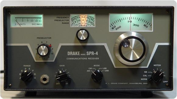 Drake SPR-4 shortwave radio
