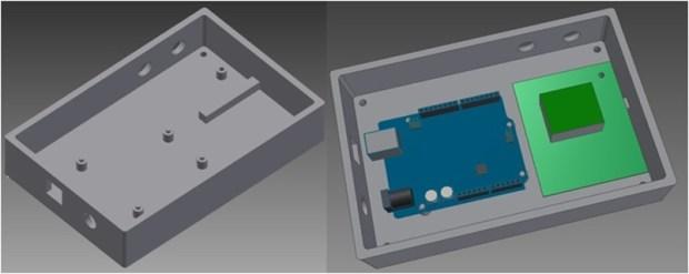 Signal Generator Plastic Enclosure