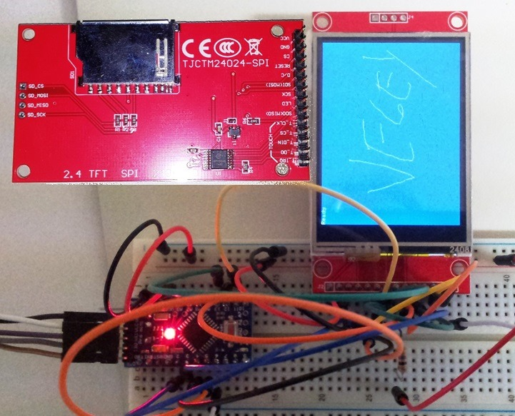 Arduino Touchscreen Display - Coding the XPT2046 - Making It Up