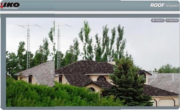 roof visualization