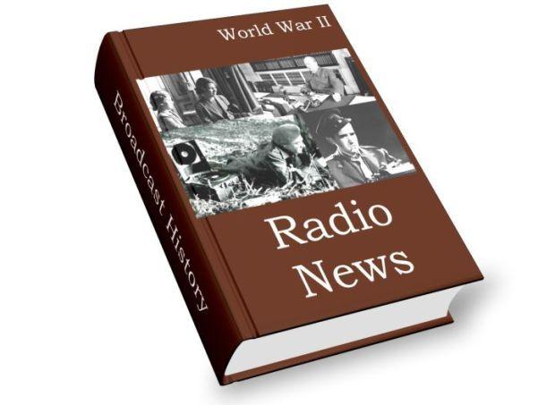 war radio news reporting