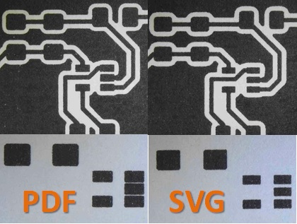 surface mount pcb artwork
