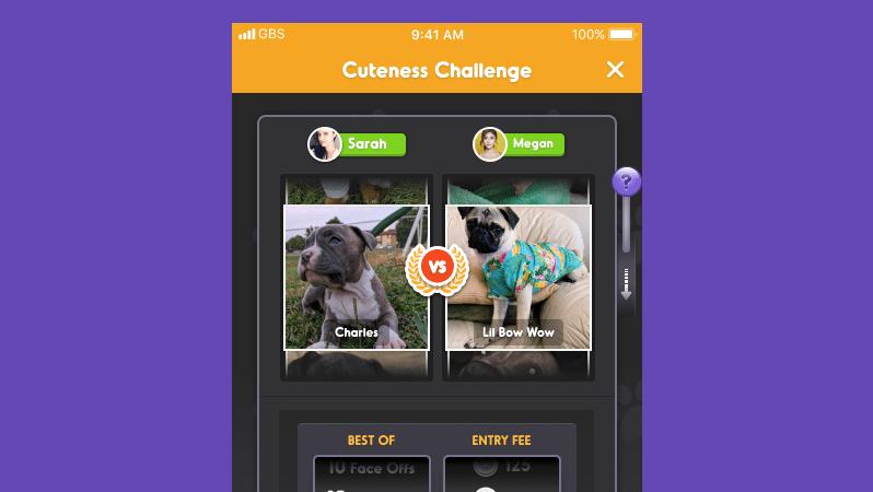 Participate in cuteness challenge