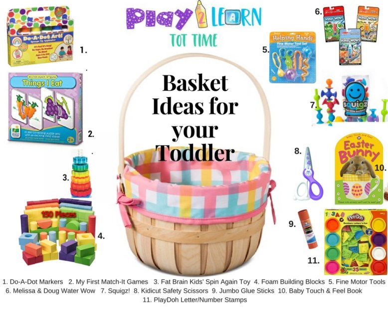 Basket Ideas for your Toddler