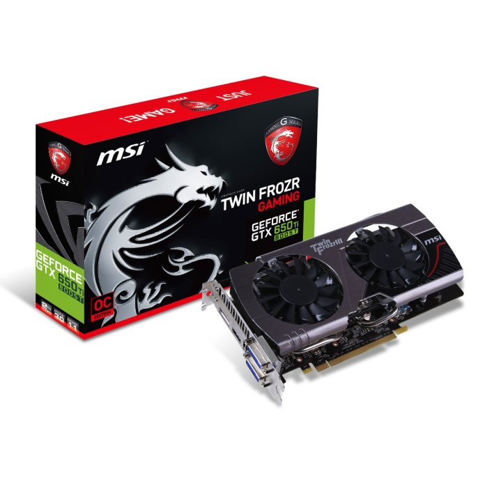 MSI launch the GTX 650TI Boost Twin Frozr Gaming Graphics Card