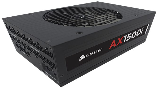 Corsair Announces AX1500i, the World's Most Technologically Advanced and Efficient PSU for PC Enthusiasts