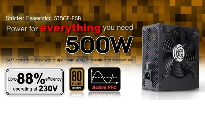 SilverStone ST50F-ESB 500W Power Supply Overview
