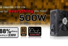 SilverStone ST50F-ESB 500W Power Supply Overview