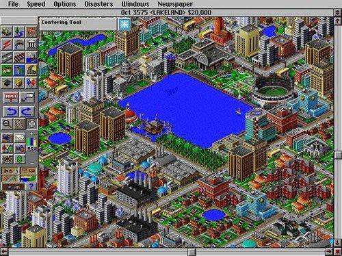 Sim City 2000 is Older and Free
