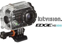 KitVison Edge HD30W Action Camera Review 29