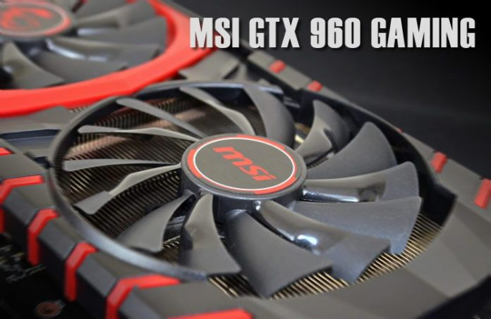 MSI GTX 960 Gaming 2G Graphics Card Review 37