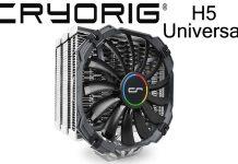 Cryorig H5 Universal CPU Cooler Review 1