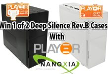 Win 1 of 2 Nanoxia Deep Silence 6 Rev.B Cases (WINNERS ANNOUNCED)