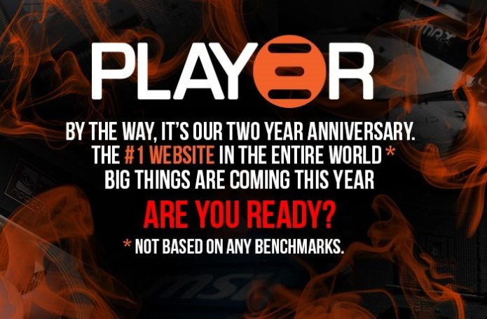 Happy 2nd Birthday to Play3r!