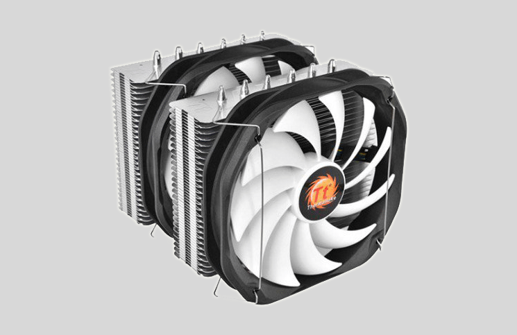 Thermaltake Frio Extreme Silent 14 Dual CPU Cooler Review