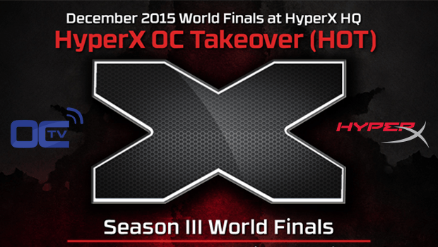 HyperX H.O.T Season III Finals Live on OverClocking-TV