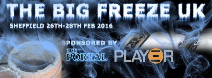 The Big Freeze UK - 26th-28th February 2016 (The Portal, Sheffield) 1
