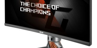 ASUS Republic of Gamers Announces Swift PG348Q Monitor 2