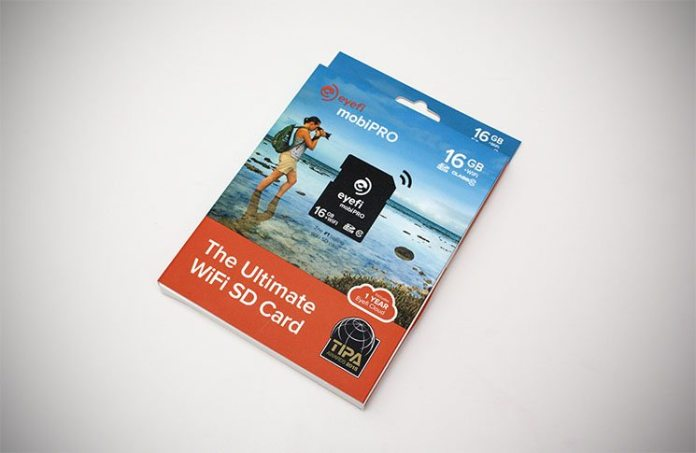 Eyefi mobiPRO Ultimate WiFI SD Card Overview