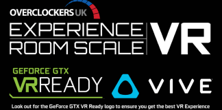 Overclockers UK Introduce Room Scale VR in Association With Vive.