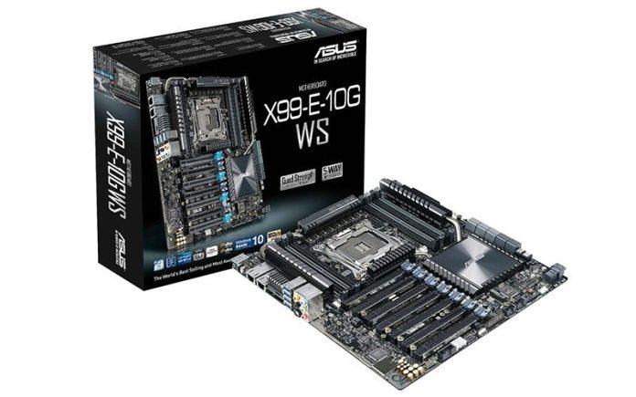ASUS Announces X99-E-10G WS Motherboard 2