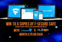 Win 10 x F-Secure SAFE Internet Security Codes For PC, Mac & Android with F-Secure & Play3r.net